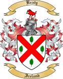 Keaty Family Crest from Ireland
