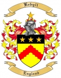 Kebyll Family Coat of Arms from England