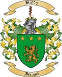 Keddy Family Crest from Ireland