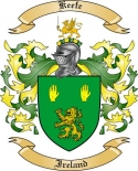 Keefe Family Crest from Ireland