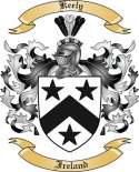 Keely Family Crest from Ireland