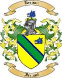 Keenan Family Crest from Ireland2