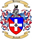 Keenan Family Coat of Arms from Ireland