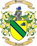 Keener Family Crest from Ireland3