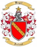 Kegel Family Coat of Arms from Ireland