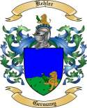 Kehler Family Coat of Arms from Germany
