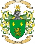 Keiffe Family Crest from Ireland