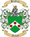 Keighran Family Crest from Ireland