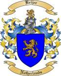 Keijer Family Coat of Arms from Netherlands
