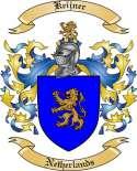 Keijner Family Crest from Netherlands