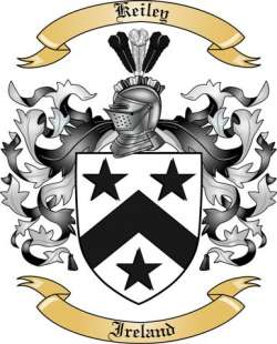 Keiley Family Coat of Arms from Ireland