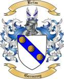 Keim Family Coat of Arms from Germany