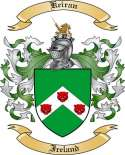 Keiran Family Coat of Arms from Ireland