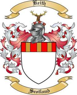 Keith Family Coat of Arms from Scotland