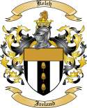 Kelch Family Crest from Ireland