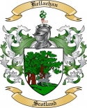 Kellachan Family Coat of Arms from Scotland