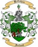Kellahan Family Crest from Ireland