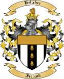Kelleher Family Crest from Ireland