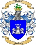 Kellie Family Coat of Arms from Ireland