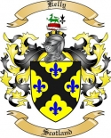 Kelly Family Coat of Arms from Scotland