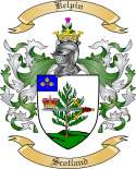 Kelpin Family Coat of Arms from Scotland