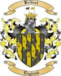 Kelvert Family Coat of Arms from England2