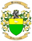 Kemman Family Crest from Netherlands
