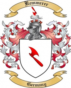 Kemmerer Family Coat of Arms from Germany