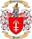 Kempczynski Family Crest from Poland