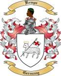 Kempe Family Crest from Germany
