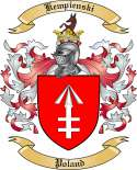 Kempienski Family Crest from Poland