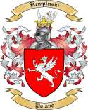 Kempinski Family Crest from Poland