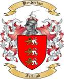 Kendrijan Family Crest from Ireland