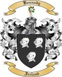 Kennady Family Coat of Arms from Ireland