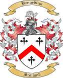 Kennediem Family Crest from Scotland