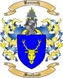 Kenneth Family Crest from Scotland