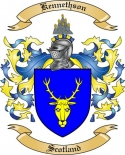 Kennethson Family Crest from Scotland