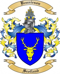 Kennieson Family Crest from Scotland