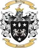 Kerling Family Crest from Ireland