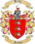 Kerlty Family Coat of Arms from Ireland