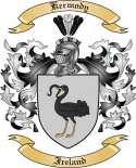 Kermody Family Crest from Ireland2