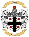 Kerr Family Coat of Arms from England