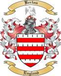 Kerton Family Coat of Arms from England