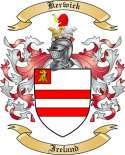 Kerwick Family Crest from Ireland