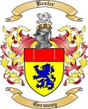 Kesler Family Coat of Arms from Germany