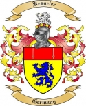 Kesseler Family Coat of Arms from Germany