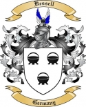 Kessell Family Crest from Germany