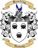 Kesselring Family Crest from Germany