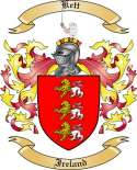 Kett Family Crest from Ireland