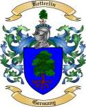 Ketterlin Family Crest from Germany